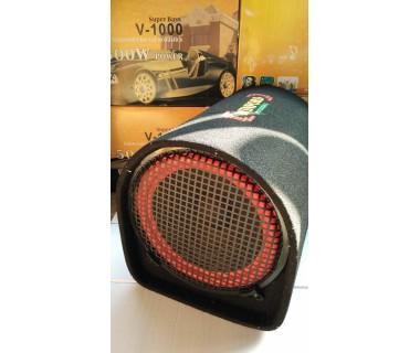 """8"""" Буфер - баскаса с USB, SD карта, FM, BT и дистанционно за кола и домашна употреба V-800"""