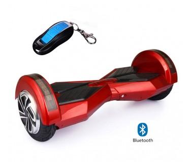 """Самобалансиращ скутер Ховърборд 8"""" с Bluetooth високоговорител, калъф и дистанционно"""