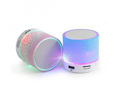 Преносима Bluetooth MP3 Колонка с диско ефекти Bluetooth Music Box A9