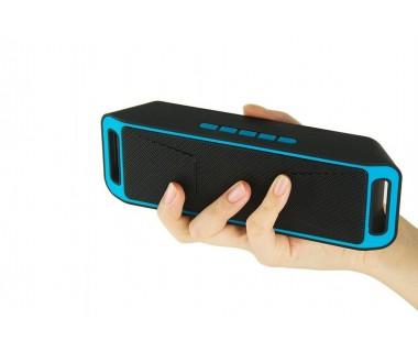 Портативна Блутут колона Wireless BT Speaker Megabass 208