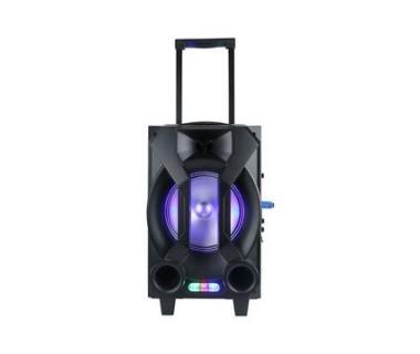 Тонколона с вграден акумулатор, МП3 плейър от SD карта и флашка, Блутут и безжичен микрофон за караоке Kemi E31