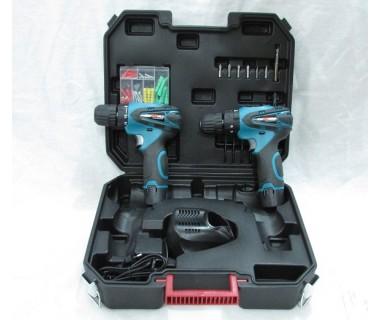 Комплект  Винтоверти 2 броя с Куфар CraftWorld ScrewDriver