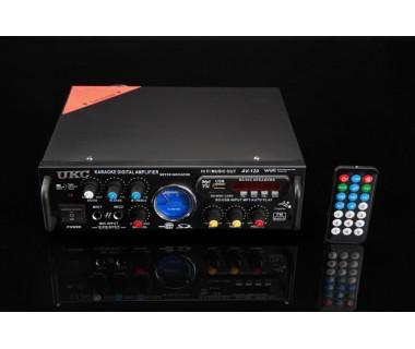 Bluetooth Караоке Усилвател за домашна употреба 2 x 150W UKC AV-339B