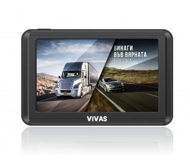 "GPS навигация 5"" за кола и камион Vivas AllRoad 5000 EU"