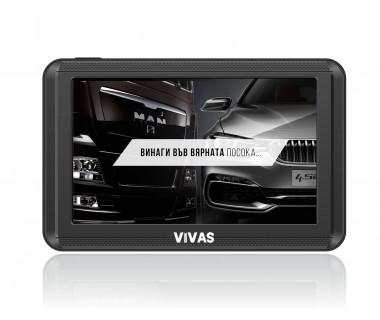 "GPS навигация 5"" за кола и камион Vivas Silver 5010 EU"