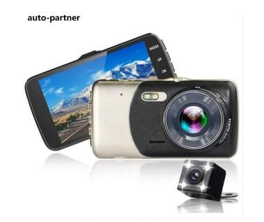 "Авто видеорегистратор с 2 камери Full HD DVR Smart Technology Cam 4"""