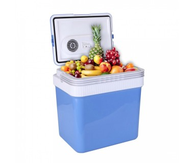 Хладилна чанта ZEPHYR ZP 1448 A24, 24 литра, 12V DC, Охлаждане и затопляне, Двойно захранване