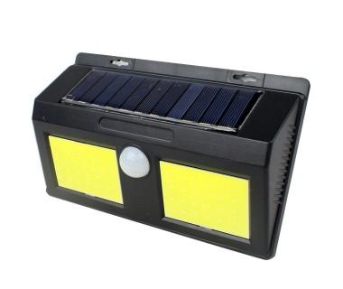 Градинска стенна LED лампа с 2 сензора LEd Wall Light LED48, Светлинен датчик, Датчик за движение