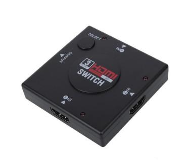 3 портов HDMI хъб - 3 входа, 1 изход