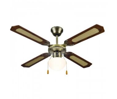 Вентилатор 42'' таванен с осветление MUHLER MCF-4040
