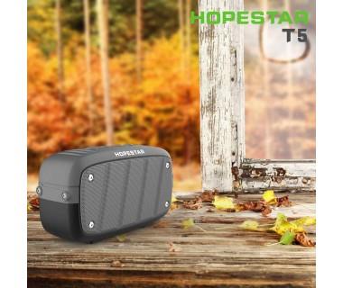 Bluetooth преносима колонка Hopestar Т5, Удароустойчива, Влагозащитена