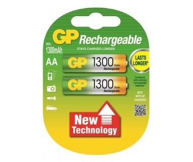Акумулаторни Батерии GP AA 1300mAh - 2 броя