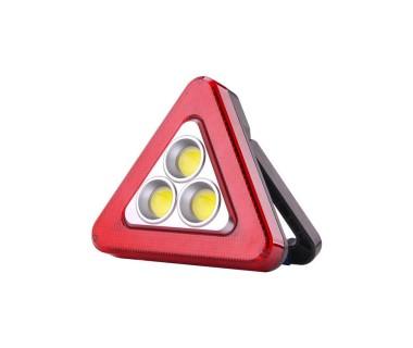 3 в 1 LED работна лампа, LED авариен триъгълник + соларно зареждане