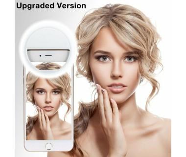 Универсална селфи ринг светкавица за мобилен телефон Selfie Ring RK-14