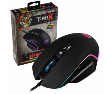 Гейминг мишка с кабел ROXPOWER T-ROX STGM388, Led подсветка