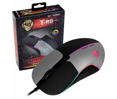Гейминг мишка с кабел ROXPOWER T-ROX STGM066, Led подсветка