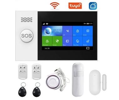 WiFi смарт охранителна система Tuya Smart Technology Sim Base Touch