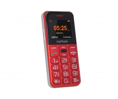 Мобилен телефон myPhone Halo Easy, Червен
