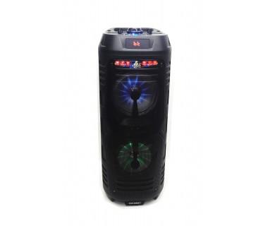Активна тонколона Rancore RS661, MP3, USB, BT, 2 x 6.5 инча