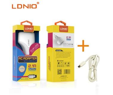 Универсално зарядно за 220V LDNIO DL-A2268 USB 2.1A