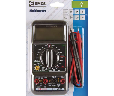 Мултицет измерателен уред Emos M92A/M2092