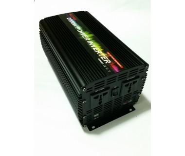 Мощен инвертор модифицирана синусoида WEIYAN 2000W