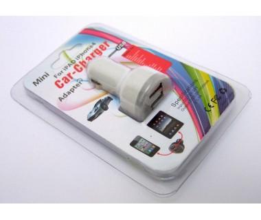 Зарядно за GSM от автомобил Mini car Charger 12 и 24 V към USB