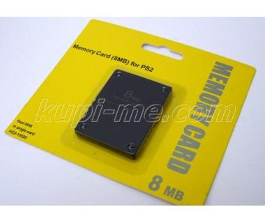 Мемори карта за PS2 Memory card 8 Mb