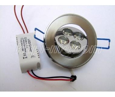 LED лунички за вграждане 4LED 4x1W