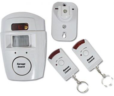 Евтина безжична аларма с вградена обемен датчик - 105 децибела сила на звука