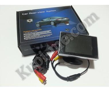 Комплект за задно виждане - камера монитор кабели