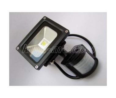 Външен LED прожектор с датчик за движение PirLed 20W