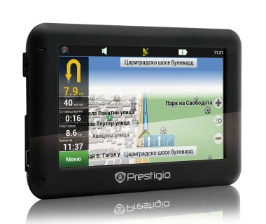 GPS навигация Prestigio Geovision 4050 за кола и камион