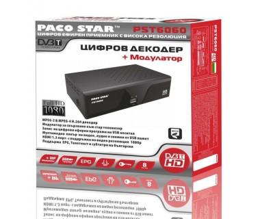 Цифров ефирен HD приемник DVB-T Full HD PACOSTAR PST6060