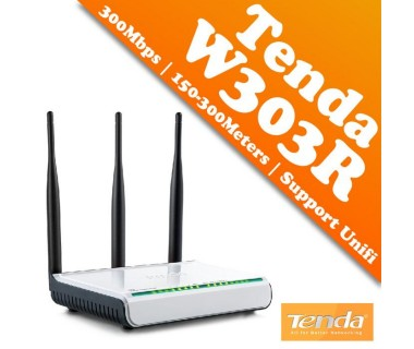 Безжичен рутер Tenda W303R Wireless-N 300 Mbps