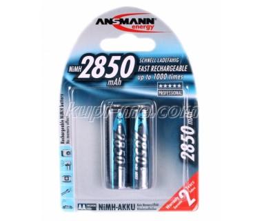 Акумулаторни Батерии Ansman AA 2850 ma - 2 броя на блистер