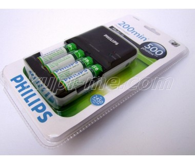 Зарядно устройство Philips плюс 4XAA 2450 MAH